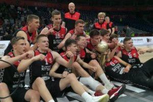"""Geriausi Europoje – """"Lietuvos rytas"""" triumfavo Eurolygos jaunimo turnyre"""