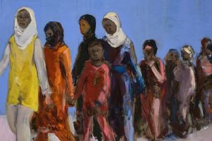"""Paroda """"Prie Babilonijos upių"""": darbus inspiravo pabėgėlių tema"""