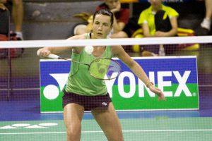 A. Stapušaitytei nepavyko įveikti Europos badmintono pirmenybių favoritės