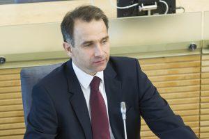 """R. Masiulis: incidentas nepadarė žalos """"NordBalt"""" projektui"""