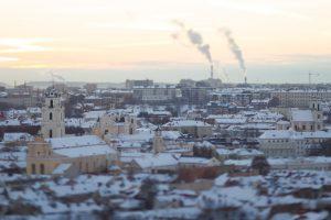 Padidėjusi oro tarša Europos miestuose Lietuvą kol kas aplenkia