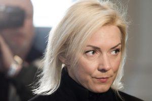 Teismas į atskirą išskyrė teisme nesirodančios V. Vonžutaitės bylą