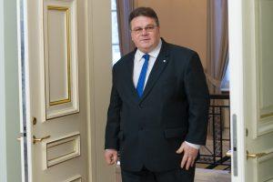 L. Linkevičius Rygoje dalyvaus Baltijos Tarybos posėdyje