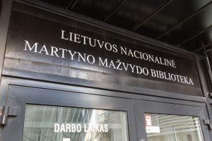 M. Mažvydo biblioteką tikimasi rekonstruoti iki rugsėjo 1-osios
