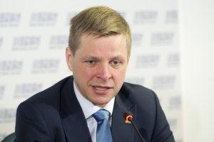 R. Šimašius A. Guogos vietoje atsisakytų europarlamentaro mandato