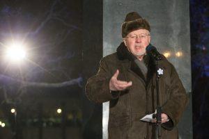 V. Landsbergis: dar turime užbaigti desovietizaciją