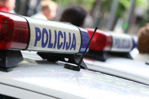 Vilniuje avariją sukėlė policijos kriminalistas