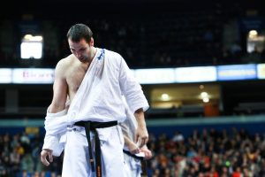 Kiokušin karatė jaunių čempionate – L. Kubiliaus auklėtinių triumfas