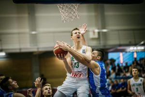Europos jaunimo krepšinio čempionato aštuntfinalyje lietuviai įveikė bosnius
