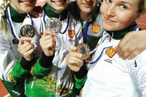Lietuvos penkiakovininkėms – kariškių pasaulio čempionato sidabras