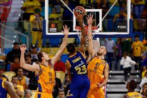 """""""Chimki"""" krepšininkai iškovojo lengvą pergalę Las Palme"""