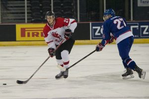 Lietuvos ledo ritulininkų žygį pasaulio čempionate pristabdė Didžioji Britanija