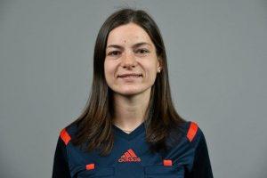 FIFA moterų jaunimo futbolo turnyre Ispanijoje teisėjaus lietuvių arbitrių brigada