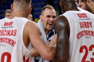 """FIBA Čempionų lygos drama: Utenos """"Juventus"""" po pratęsimo nukovė """"Dinamo"""""""