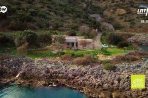 Pora atostogų namelį Graikijoje ant jūros kranto pavertė pasaka