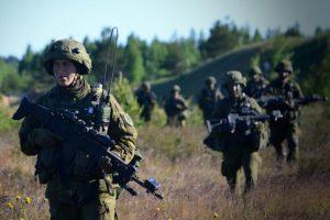 Seimas pritarė Lietuvos karių skaičiaus NATO greitojo reagavimo pajėgose didinimui