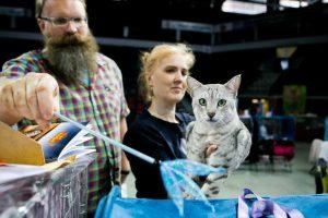 Klaipėdoje – šventė kačių mylėtojams