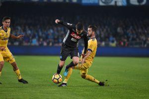 """Italijos lyderių mače – """"Juventus"""" triumfas ir pirmasis """"Napoli"""" pralaimėjimas"""