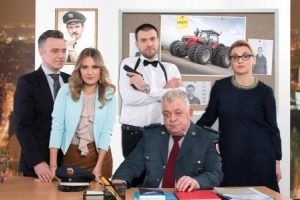 """Garsiam aktorių būriui pristatyta pirmoji komiško serialo """"Nuovada"""" serija"""