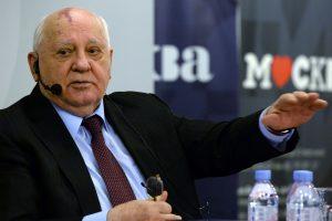 Prokuroras: imtis veiksmų prieš M. Gorbačiovą šiuo metu neįmanoma