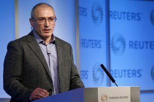M. Chodorkovskis: V. Putino aplinka veikia kriminalinės gaujos principu