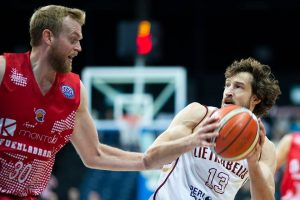 """""""Lietkabelio"""" krepšininkai įrodė pranašumą prieš Ispanijos komandą"""