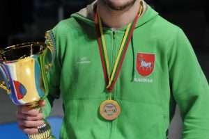 Imtynininkui M. K. Sinkevičiui – kurčiųjų olimpinių žaidynių bronza