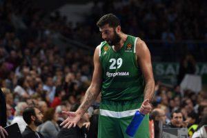 """Atėnų """"Panathinaikos"""" nepasigailėjo Stambulo """"Galatasaray"""" krepšininkų"""
