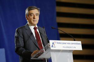 Vokietija juokiasi iš Prancūzijos prezidento posto siekiančio F. Fillono žemėlapio