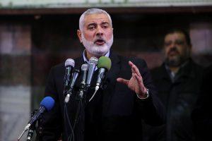 """JAV įtraukė """"Hamas"""" vadą į juodąjį teroristų sąrašą"""