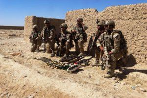 Afganistane dislokuota šimtai specialiosios paskirties karių