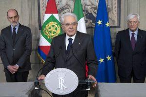Italijos prezidentas kreipėsi į partijas vėl nepavykus suformuoti vyriausybės