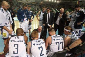 """""""Skycop"""" krepšininkai iškovojo netikėtą pergalę Panevėžyje"""