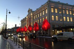 Specialistai: kalėdiniam miestų dekorui trūksta konceptualių ir drąsių idėjų