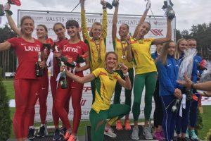 Lietuvos lengvaatlečiai Baltijos šalių mače iškovojo dar aštuonias pergales