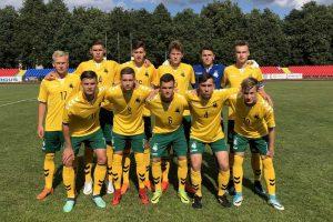 U-19 rinktinė patyrė pirmą nesėkmę Baltijos taurės turnyre