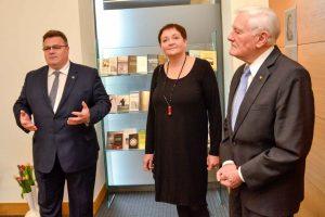 Užsienio reikalų ministerijoje pagerbtas L. Donskio atminimas