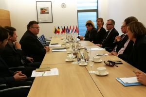 Stiprinamas dialogas su sąjungininkais, kurių kariai tarnauja Lietuvoje