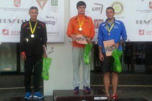 Ėjikas M. Žiūkas metė iššūkį olimpiniam vicečempionui