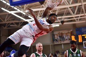 """""""Juventus"""" pirmąsias FIBA Europos taurės ketvirtfinalio rungtynes baigė lygiosiomis"""
