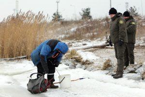 Ant ledo – žvejų gaudynės