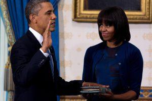 H. Clinton rinkimų kampanijos mitinge palaikys vyras ir B. Obama su žmona