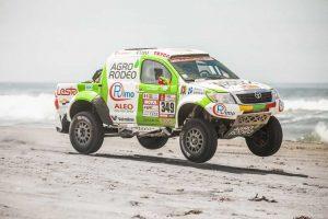 Lenktynininkas V. Žala ketvirtajame Dakaro ralio etape užėmė 25-ąją vietą