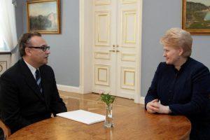 Latvijoje darbą pradėjo naujasis Lietuvos ambasadorius