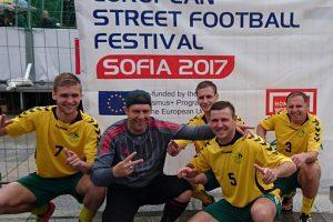 Lietuvos gatvės futbolo rinktinė – Europos vicečempionė