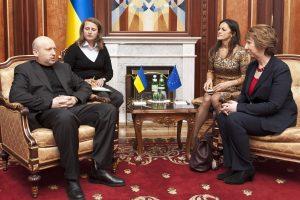 Ukrainoje parlamentas paskyrė Maidano komendantą nacionalinio banko vadovu