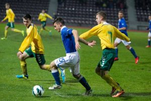 Lietuvos jaunimo futbolo rinktinė išbandys jėgas su baltarusiais