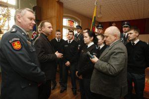 Klaipėdos policijoje - šventė