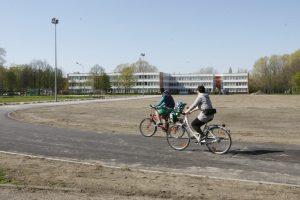 Uostamiestyje atnaujinami mokyklų stadionai