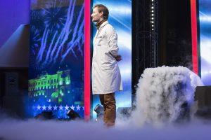 """""""Lietuvos talentuose"""" – neregėtas fiziko šou"""